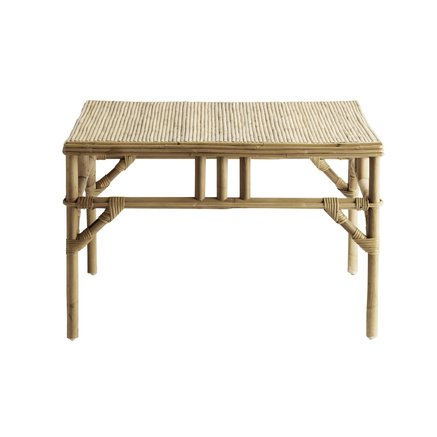 Lounge table in rattan