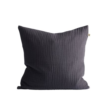Cushion cover, 50 x 50 cm, 100% cotton, thunder
