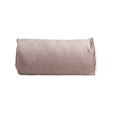 Cushion cover, D 25 x 50 cm, velvet, rose