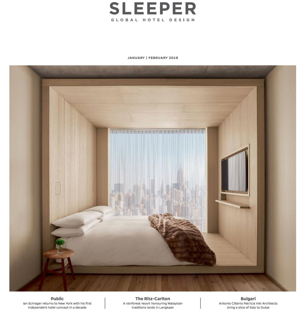 Sleeper magazine - feature on tinekhome bamboo