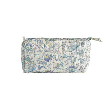 Toilet bag, 12x32xH18 cm, Liberty,cottton,lavender