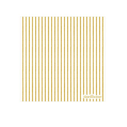 Papernapkins w. thin stripes, curry