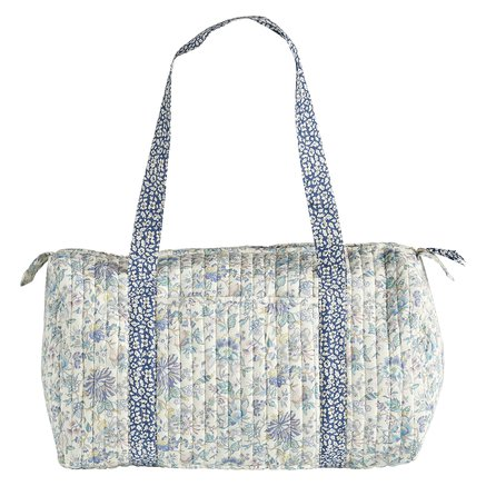 Liberty soft bag, 20x47xH22 cm, cotton, lavender