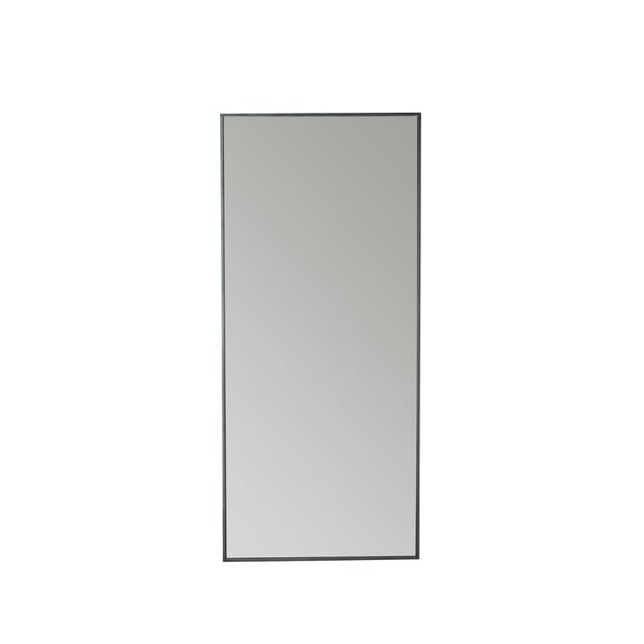Mirror with iron frame, 80 x 180 cm, phantom | Products | Tine K Home