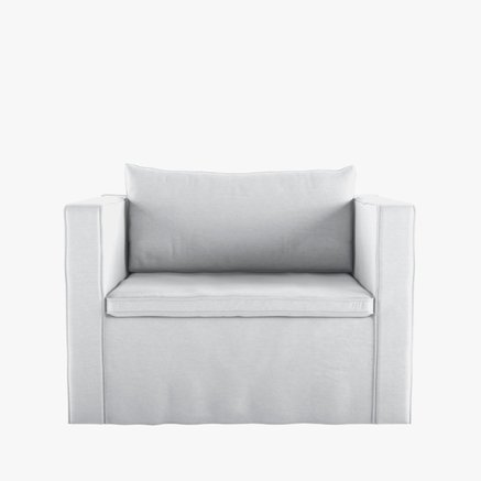 CHAIR120, ICA WHITE