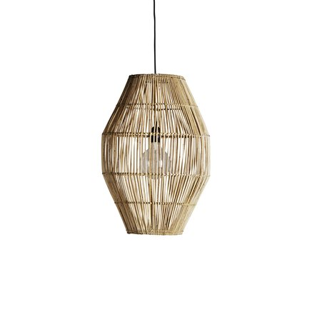 Lampshade in rattan, D40xH60, natural