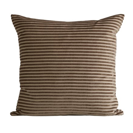 Cushion cover, 60X60 cm, polyester, camel
