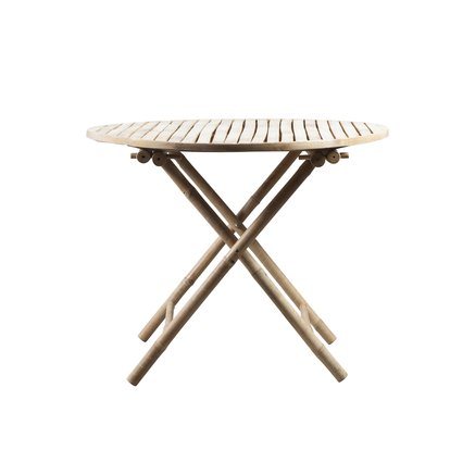 "Bamboo table, D90, ""folding table"", nature"