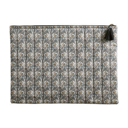 Clutch in Liberty fabric, large