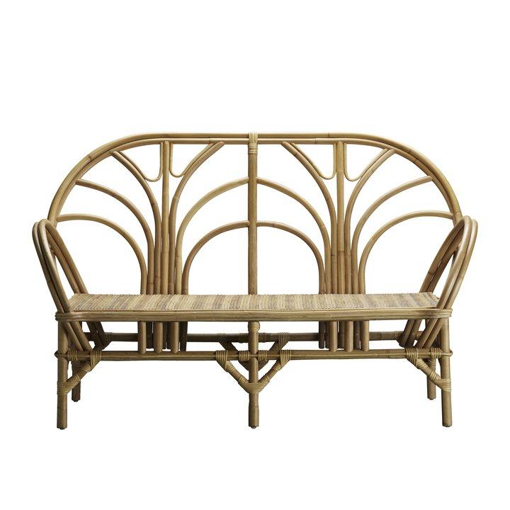 lounge sofa in rattan 2 pers products tine k home rh tinekhome com