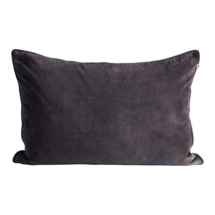 Cushion cover, 50x75, velvet, thunder