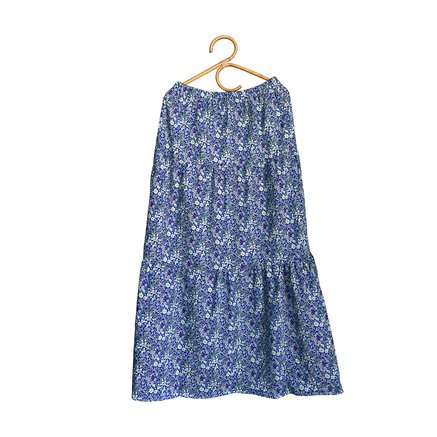 Long skirt, Liberty fabric, One-Size