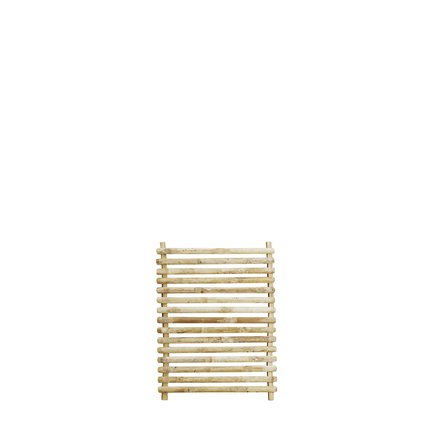 Bamboo wall hanger deco, 60x80, natural